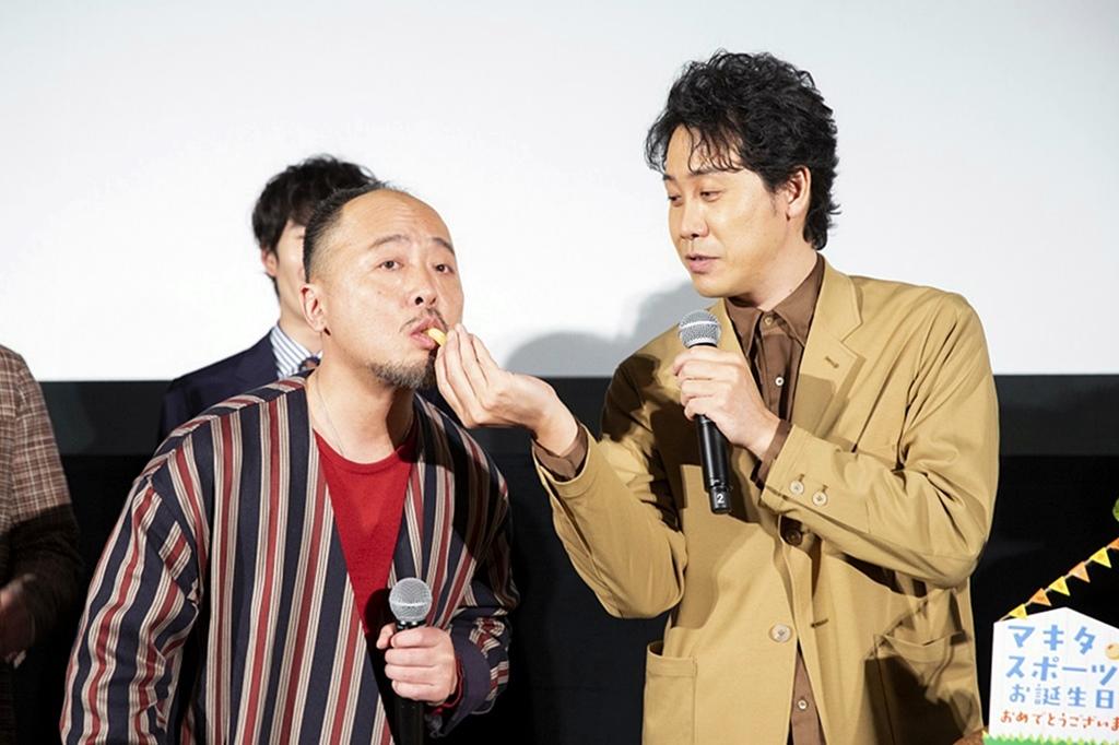 【写真】映画『そらのレストラン』公開初日舞台挨拶 (マキタスポーツ、大泉洋)