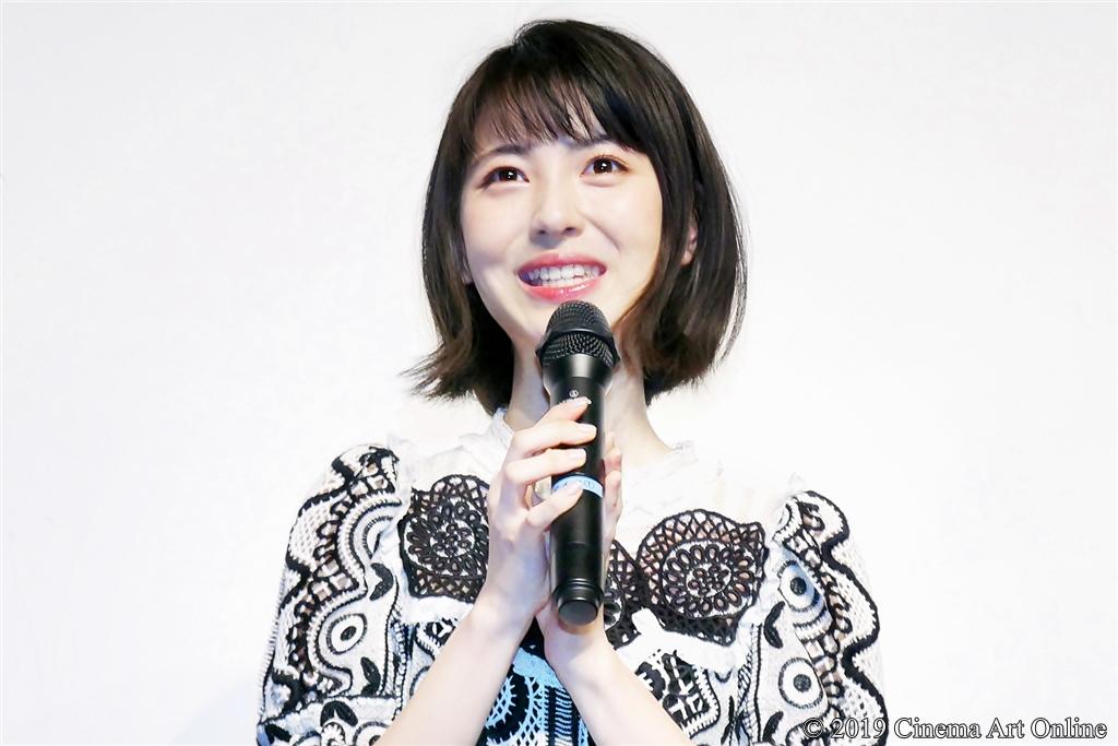 【写真】ドラマ『賭ケグルイ season2』完成披露試写会イベント (浜辺美波)