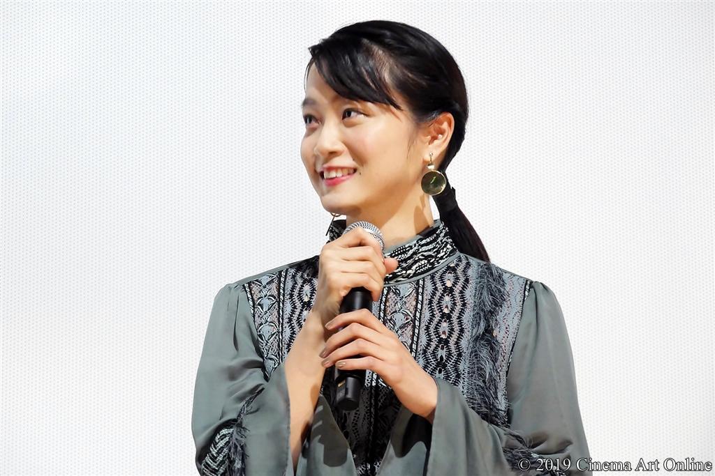 【写真】映画『愛がなんだ』完成披露上映会舞台挨拶 (深川麻衣)