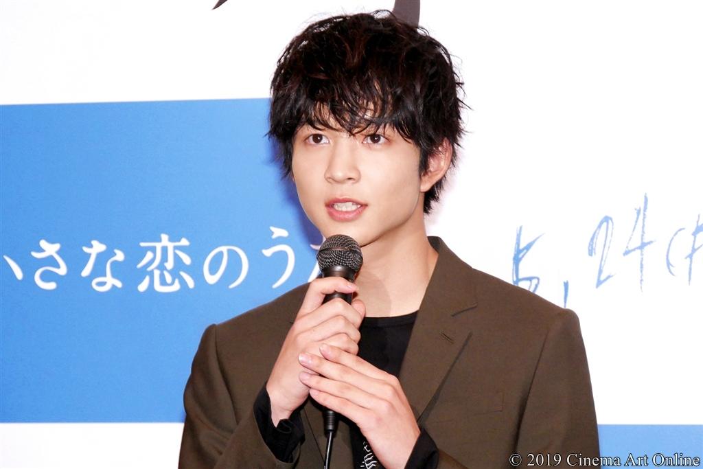 【写真】映画『小さな恋のうた』完成報告記者会見 (鈴木仁)