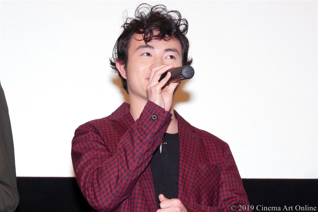 【写真】映画『小さな恋のうた』完成披露舞台挨拶 (森永悠希)