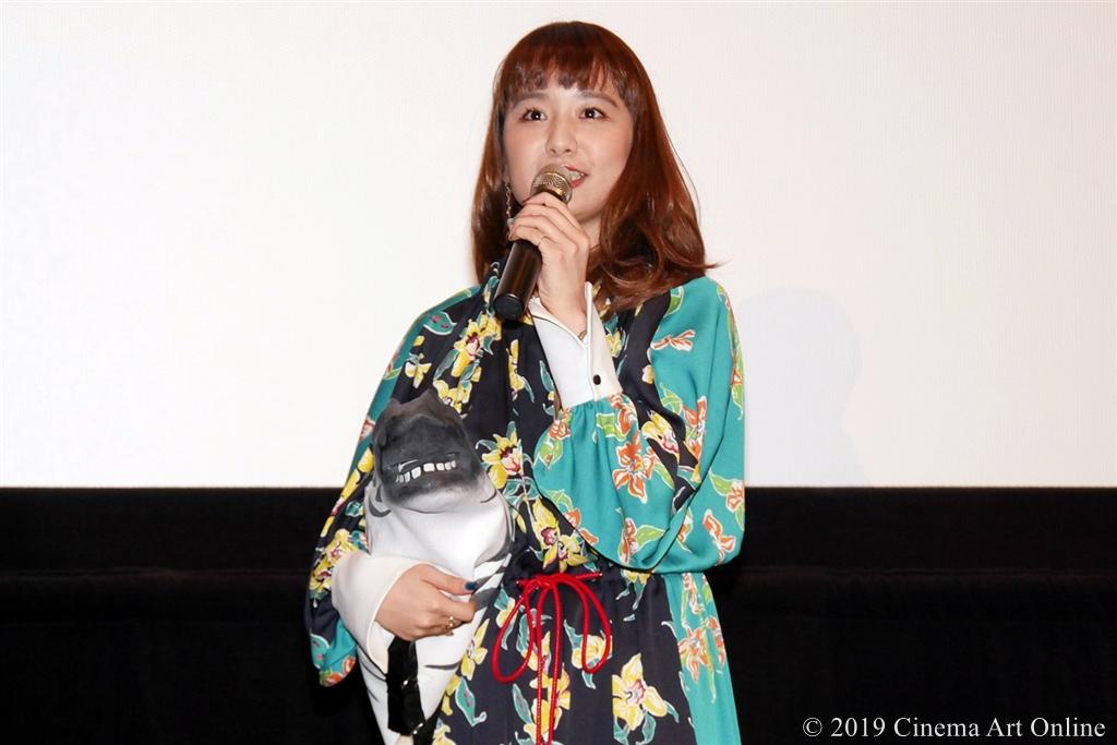 【写真】映画『麻雀放浪記2020』完成報告舞台挨拶 (もも)