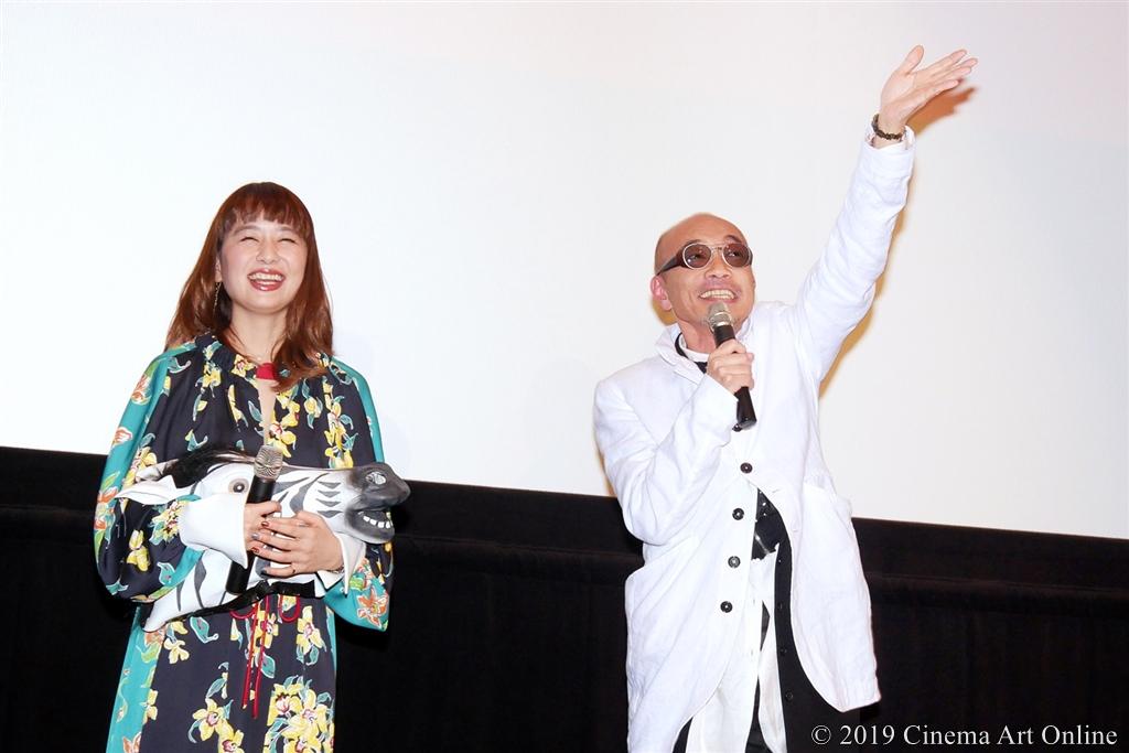 【写真】映画『麻雀放浪記2020』完成報告舞台挨拶 (竹中直人)