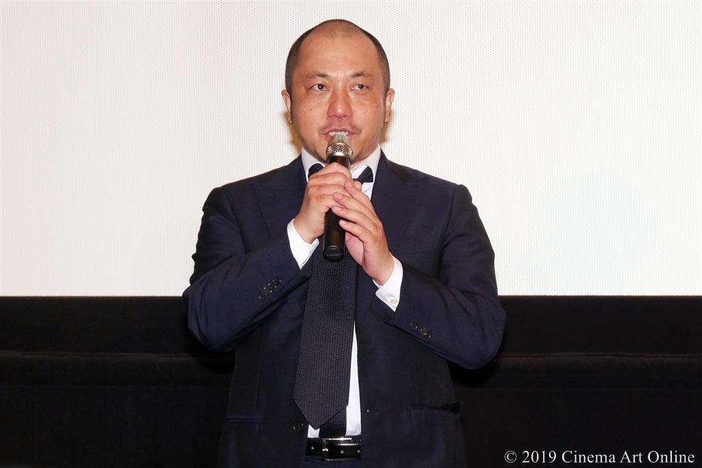【写真】映画『麻雀放浪記2020』完成報告舞台挨拶 (白石和彌監督)