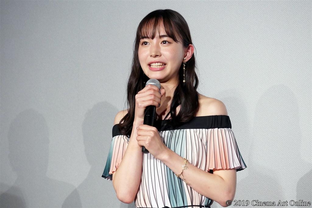 【写真】映画『4月の君、スピカ。』完成披露上映会舞台挨拶 (井桁弘恵)