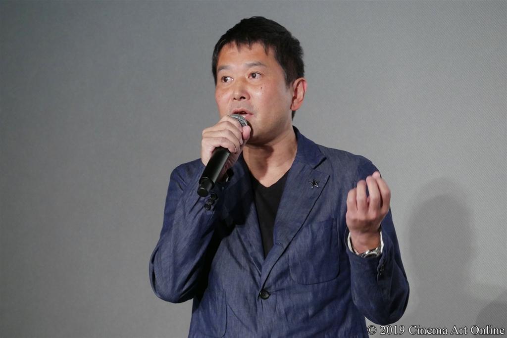 【写真】映画『4月の君、スピカ。』完成披露上映会舞台挨拶 (大谷健太郎監督)