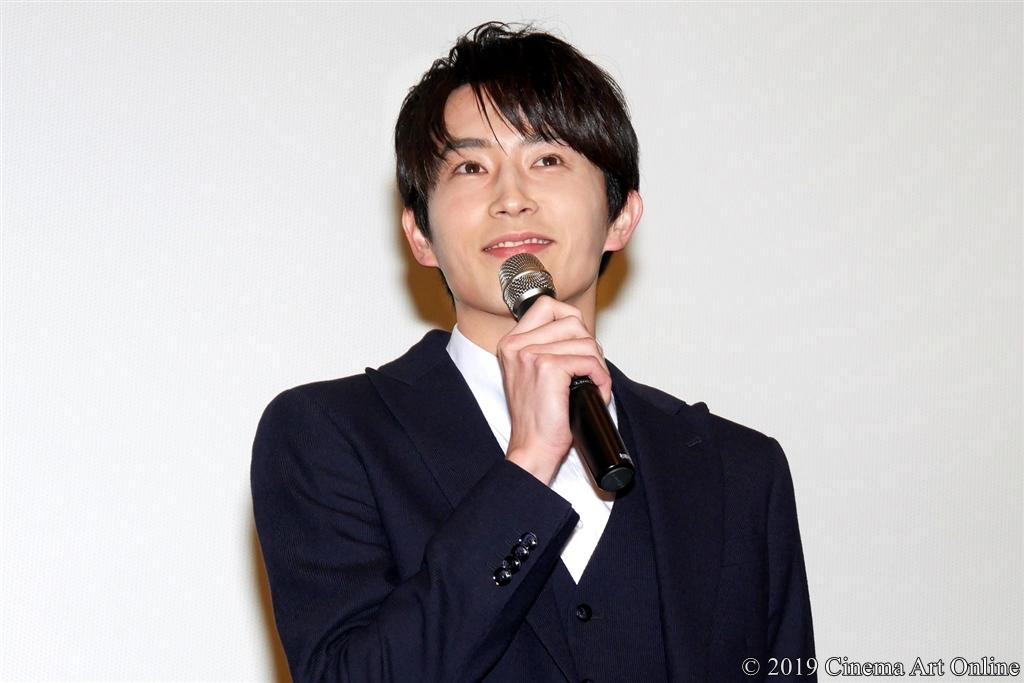 【写真】映画『L♡DKひとつ屋根の下、「スキ」がふたつ。』大ヒット記念舞台挨拶 (杉野遥亮)