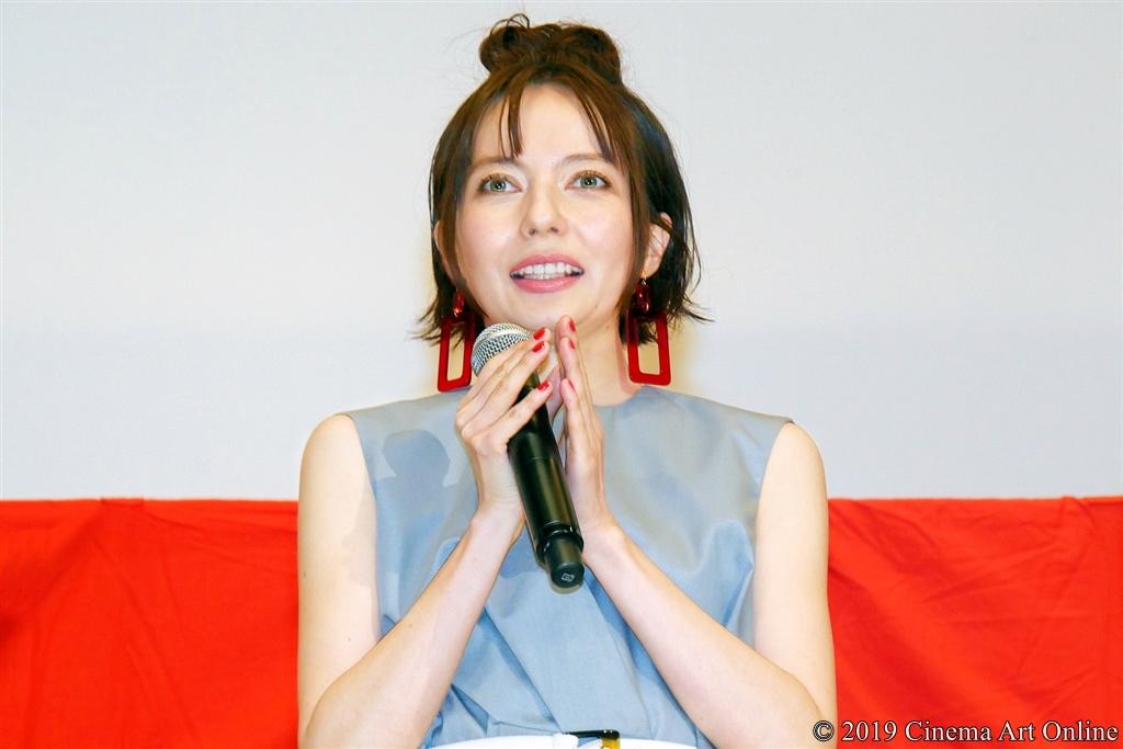 【写真】映画『麻雀放浪記2020』公開初日舞台挨拶 (ベッキー)