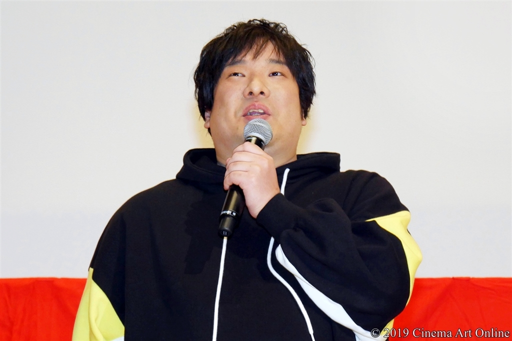 【写真】映画『麻雀放浪記2020』公開初日舞台挨拶 (岡崎体育)