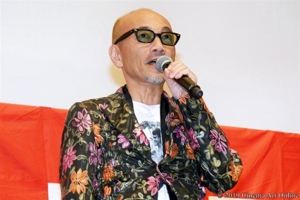 【写真】映画『麻雀放浪記2020』公開初日舞台挨拶 (竹中直人)