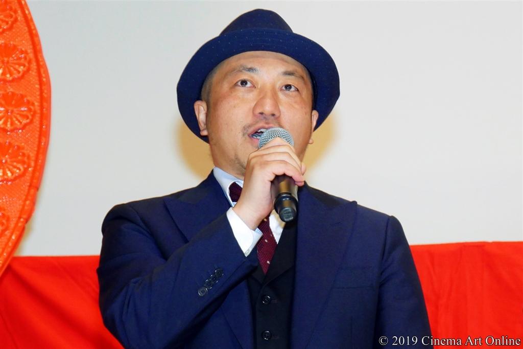 【写真】映画『麻雀放浪記2020』公開初日舞台挨拶 (白石和彌監督)