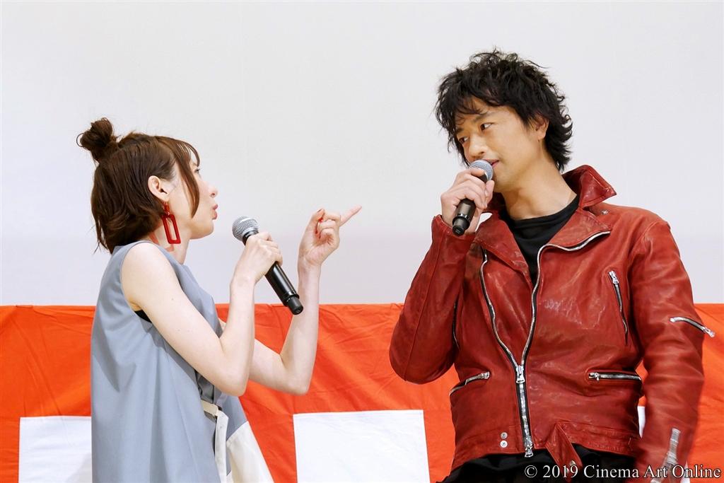 【写真】映画『麻雀放浪記2020』公開初日舞台挨拶 (斎藤工×ベッキー)