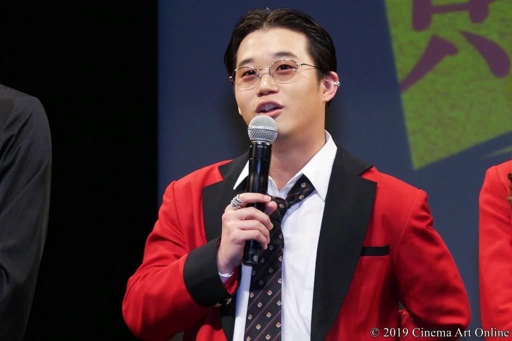 【写真】『映画 賭ケグルイ』完成披露試写会 (矢本悠馬)