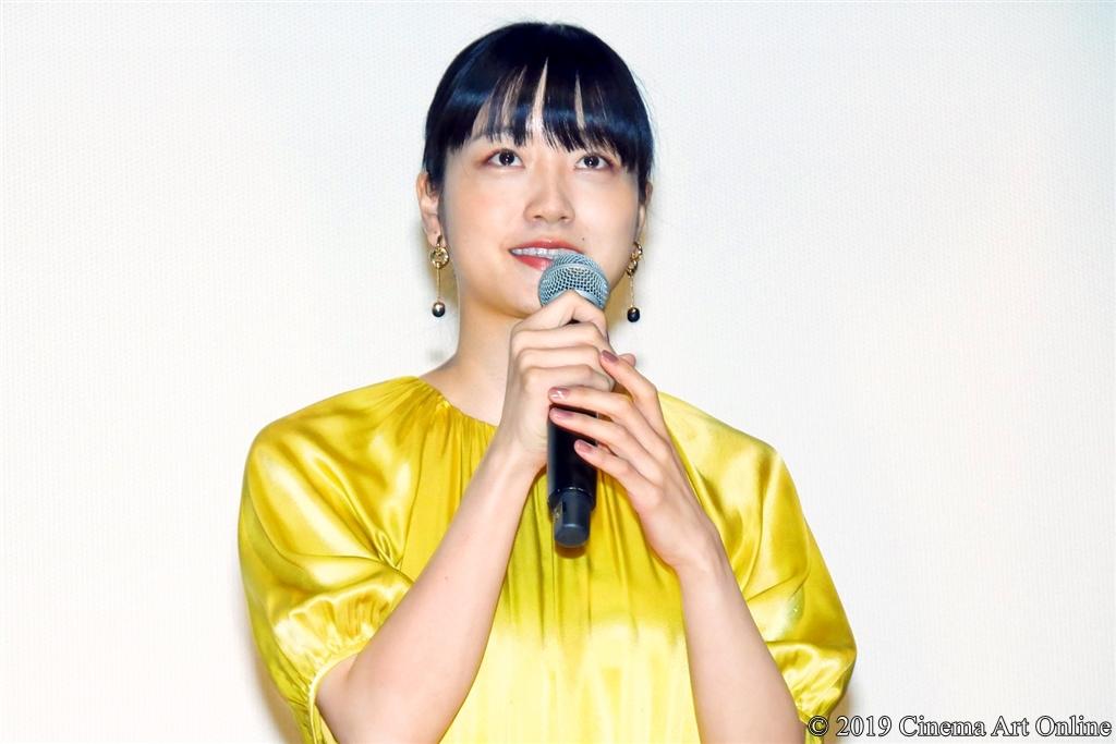 【写真】映画『愛がなんだ』公開記念舞台挨拶 (深川麻衣)