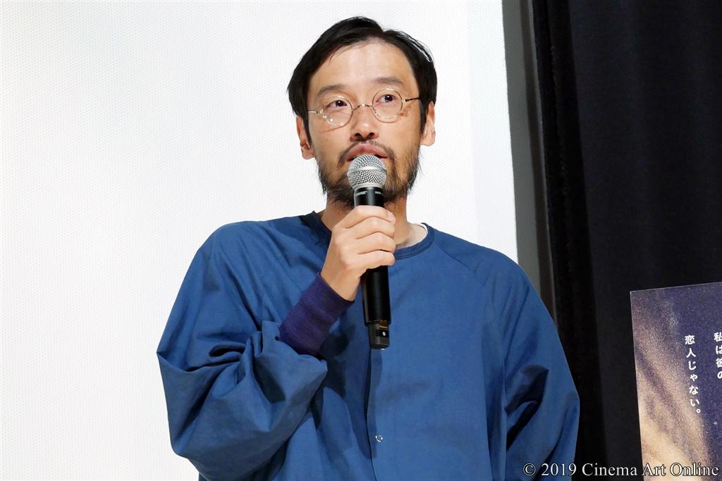 【写真】映画『愛がなんだ』公開記念舞台挨拶 (今泉力哉監督)