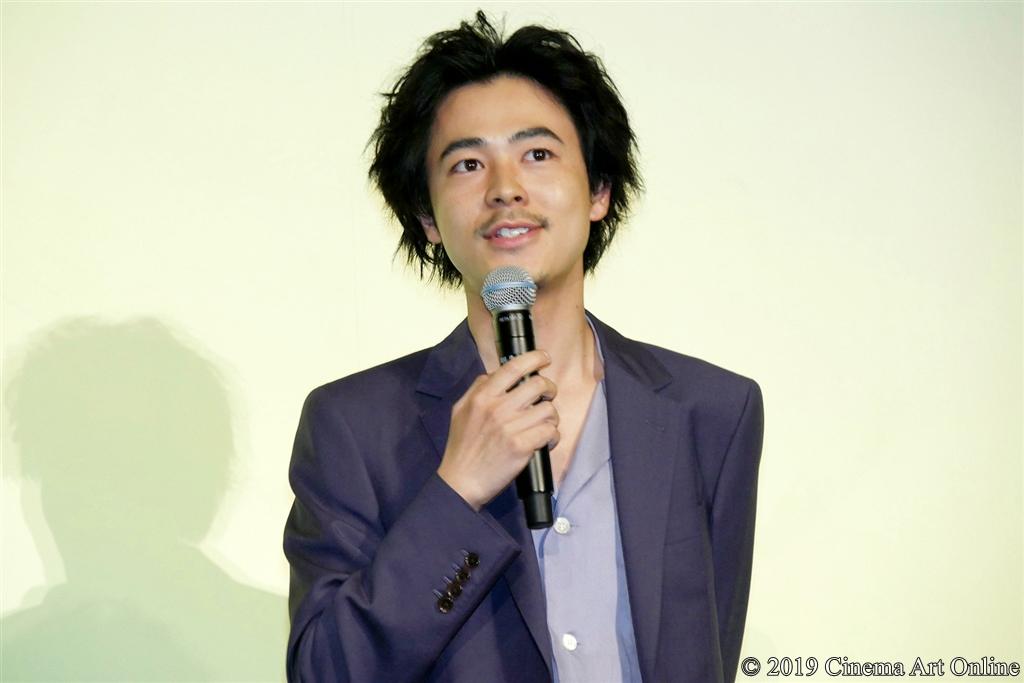 【写真】映画『さよならくちびる』完成披露試写会舞台挨拶 (成田凌)