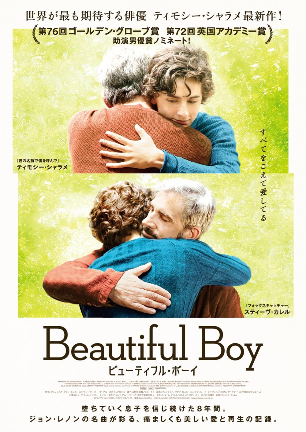 【画像】映画『ビューティフル・ボーイ』(Beautiful Boy) ポスタービジュアル