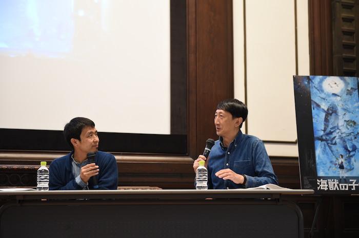 【画像】映画『海獣の子供』×「大哺乳類展2」スペシャルトークイベント五十嵐大介氏と渡辺歩監督