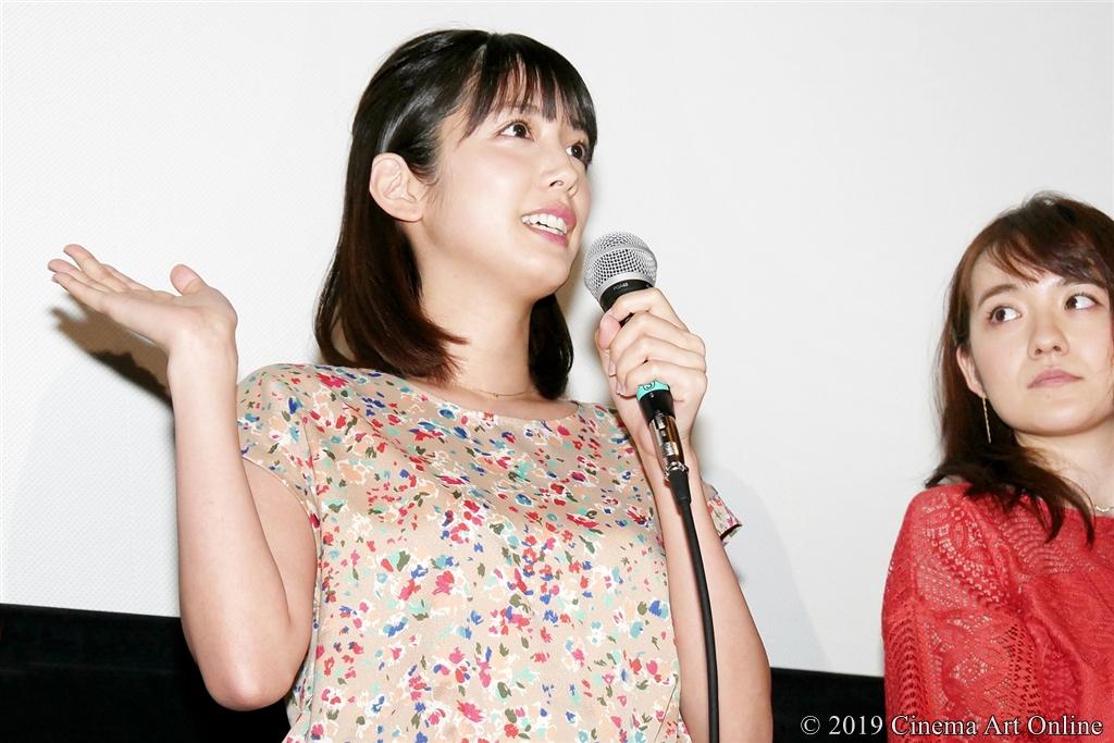 【写真】『映画としまえん』先行上映会舞台挨拶 (松田るか)