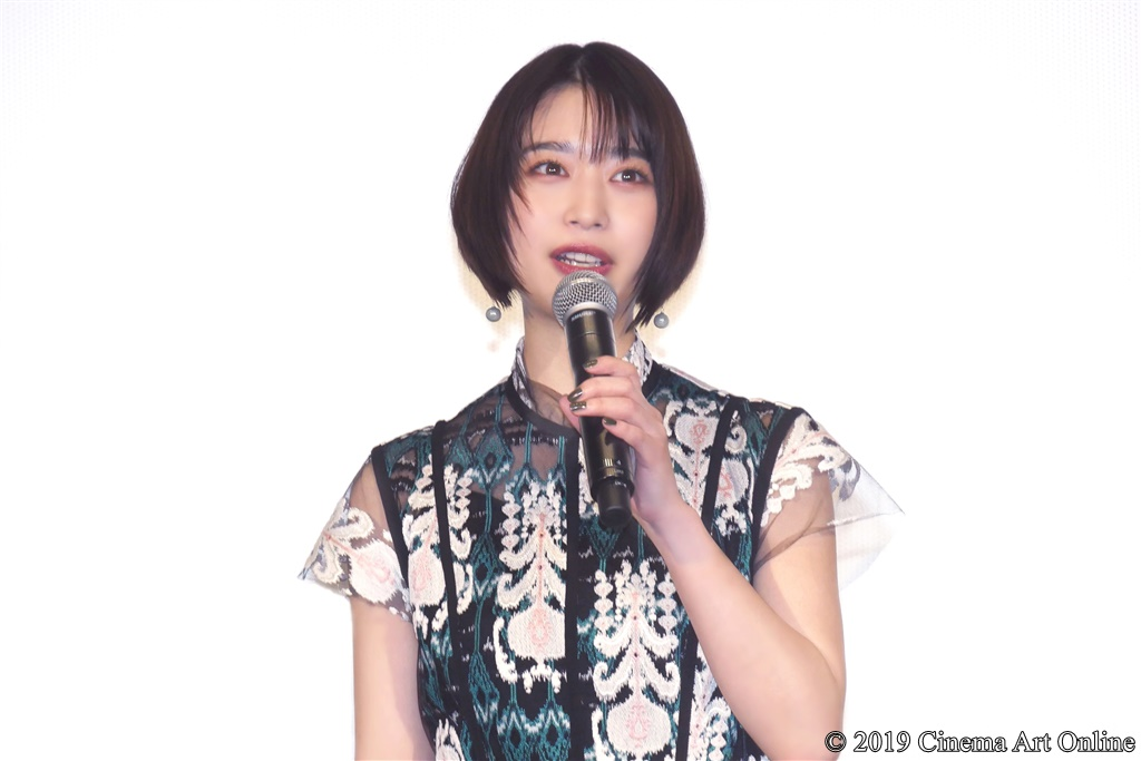 【写真】『映画 賭ケグルイ』公開初日舞台挨拶 (森川葵)