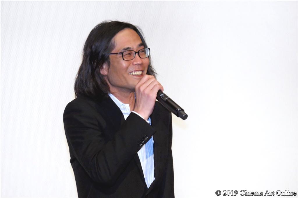 【写真】『映画 賭ケグルイ』公開初日舞台挨拶 (英勉監督)