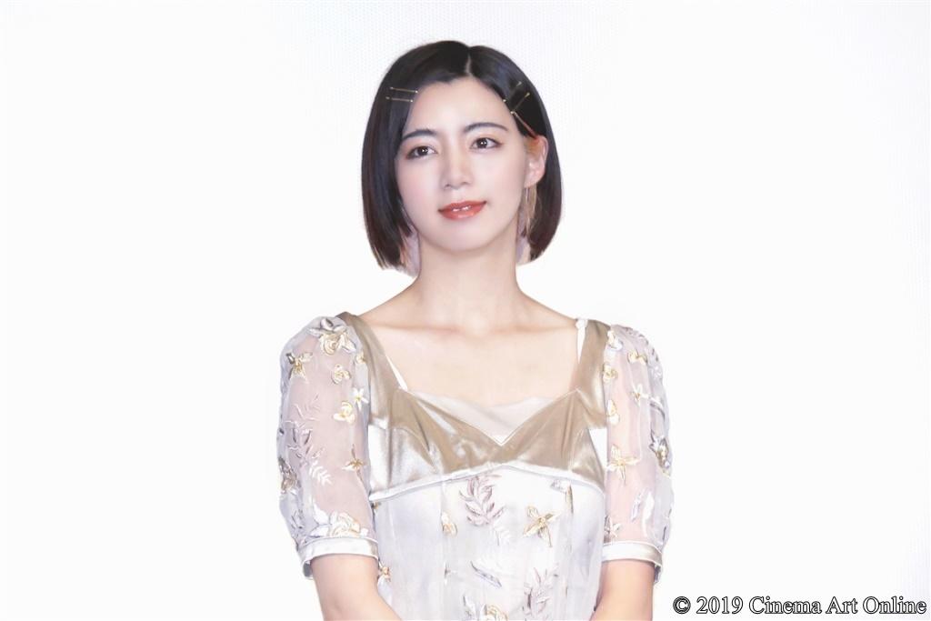 【写真】『映画 賭ケグルイ』公開初日舞台挨拶 (池田エライザ)