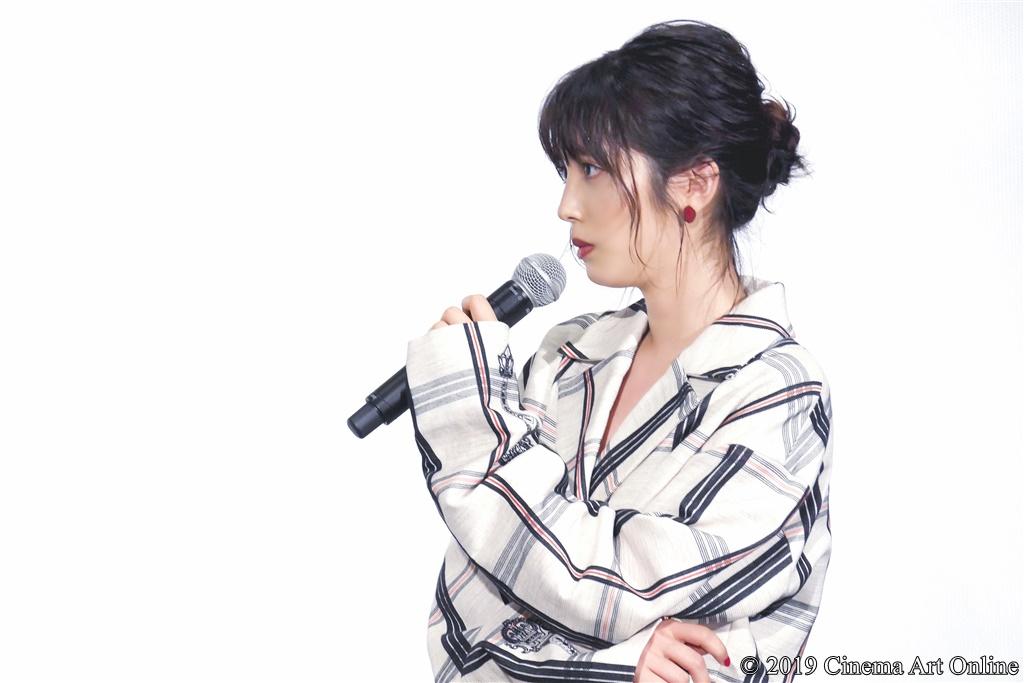 【写真】『映画 賭ケグルイ』公開初日舞台挨拶 (松田るか)