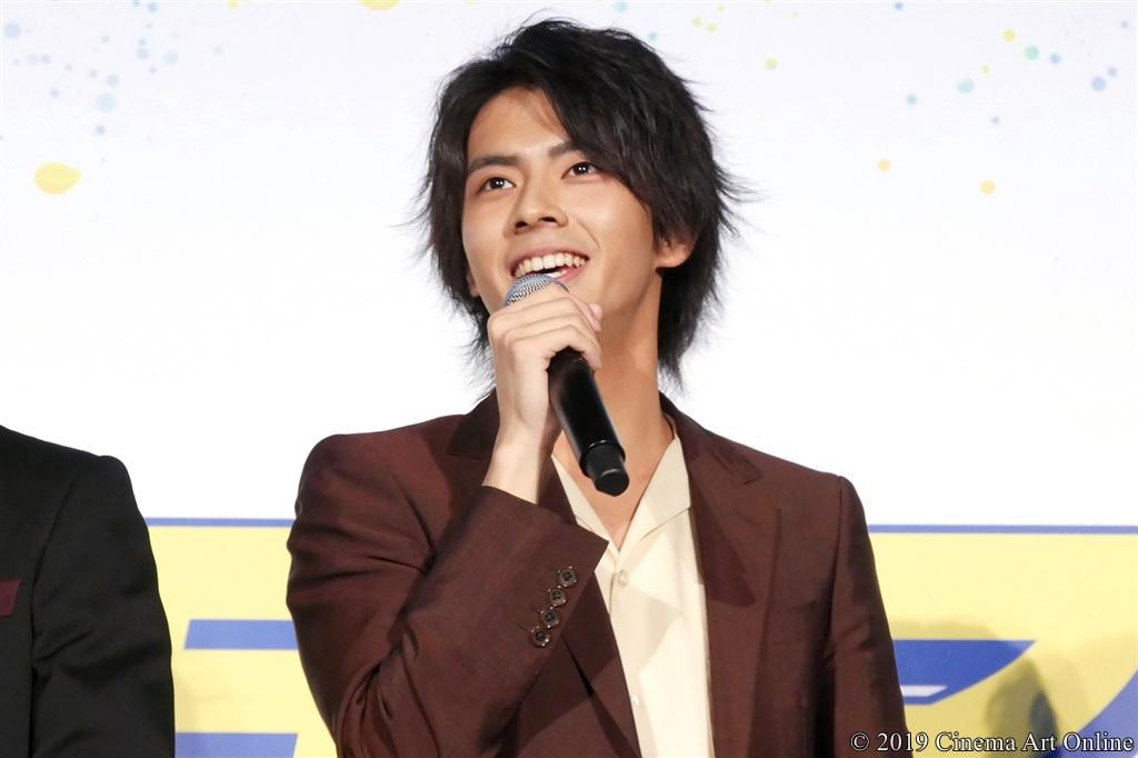 【写真】映画『チア男子!!』公開初日舞台挨拶 (中尾暢樹)