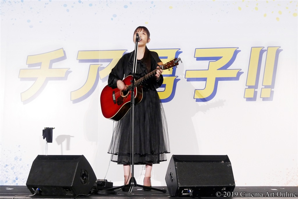 【写真】映画『チア男子!!』公開初日舞台挨拶 阿部真央 主題歌「君の唄」ライブ披露!