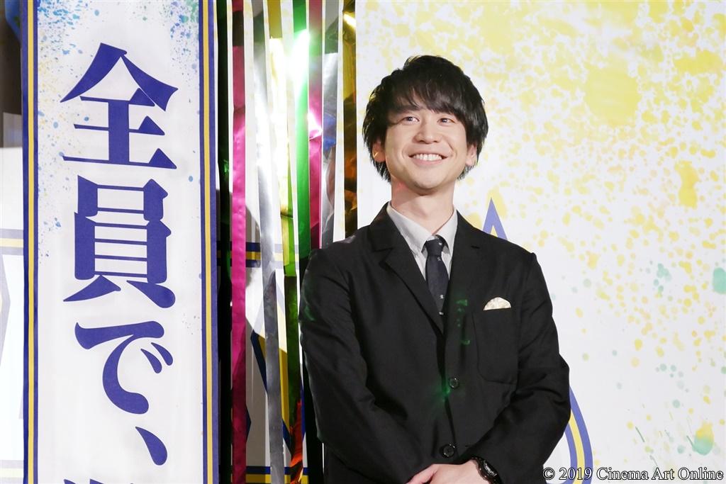 【写真】映画『チア男子!!』公開初日舞台挨拶 (風間太樹監督)