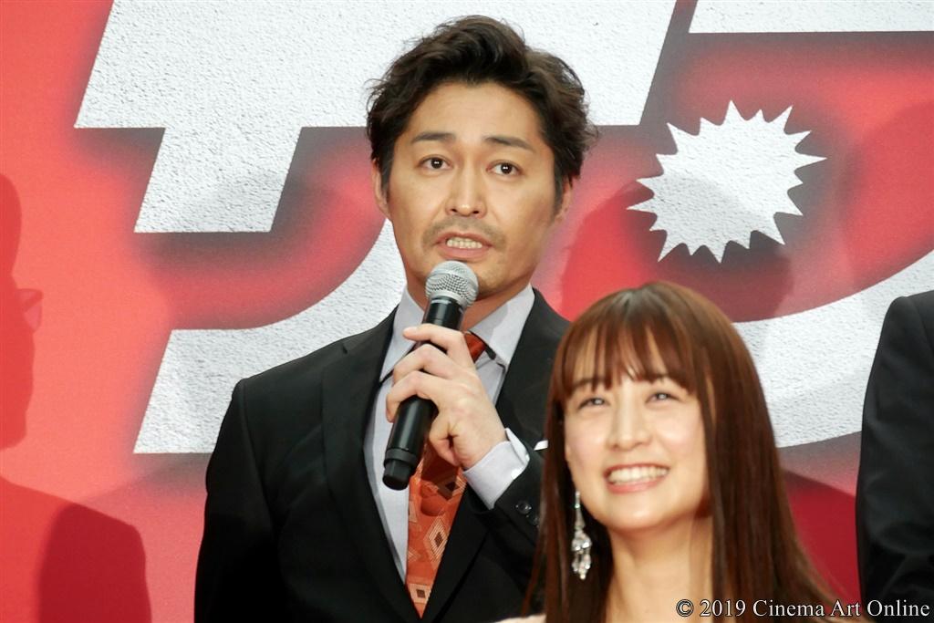 【写真】映画『ザ・ファブル』レッドカーペットイベント (安田顕)