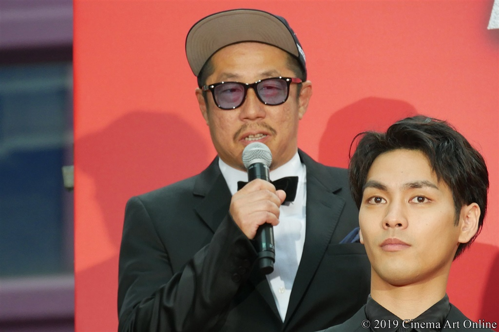 【写真】映画『ザ・ファブル』レッドカーペットイベント (江口カン監督)