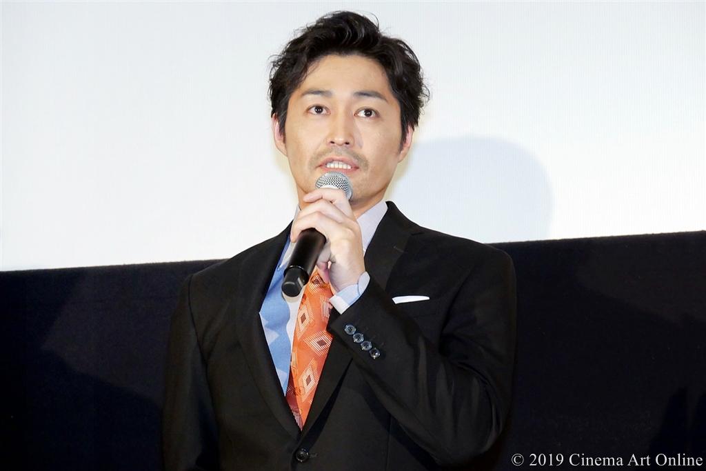 【写真】映画『ザ・ファブル』完成披露試写会舞台挨拶 (安田顕)