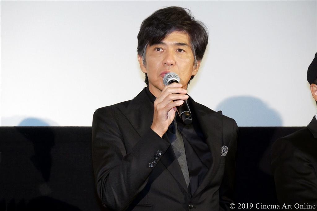 【写真】映画『ザ・ファブル』完成披露試写会舞台挨拶 (佐藤浩市)