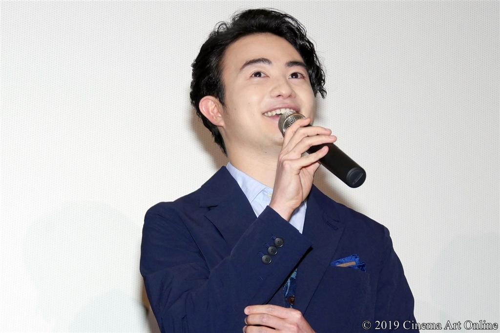 【写真】映画『小さな恋のうた』公開記念舞台挨拶 (森永悠希)