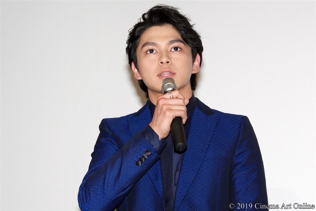 【写真】映画『小さな恋のうた』公開記念舞台挨拶 (眞栄田郷敦)