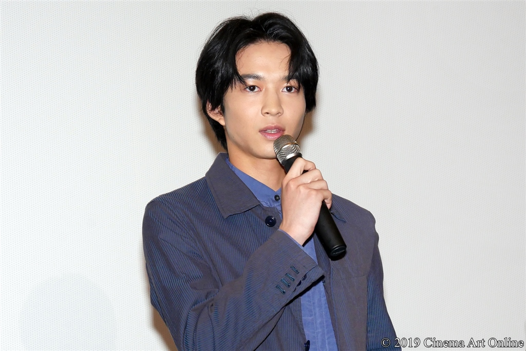 【写真】映画『小さな恋のうた』公開記念舞台挨拶 (鈴木仁)