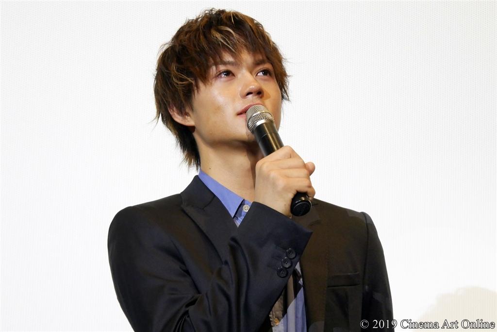 【写真】映画『小さな恋のうた』公開記念舞台挨拶 (佐野勇斗)