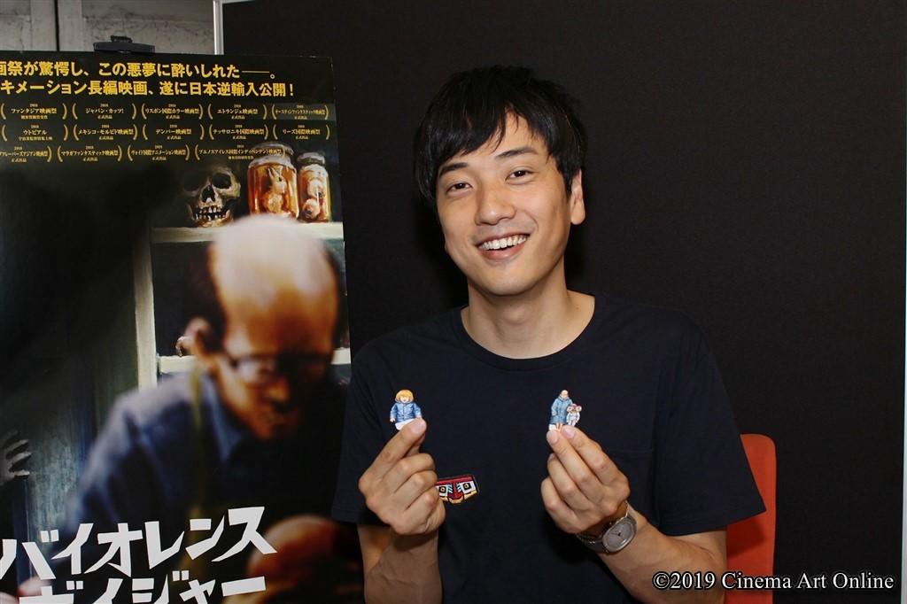 【写真】映画『バイオレンス・ボイジャー』宇治茶監督