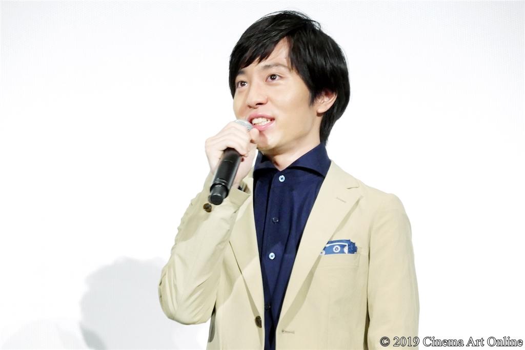 【写真】映画『海獣の子供』公開初日舞台挨拶 (浦上晟周)
