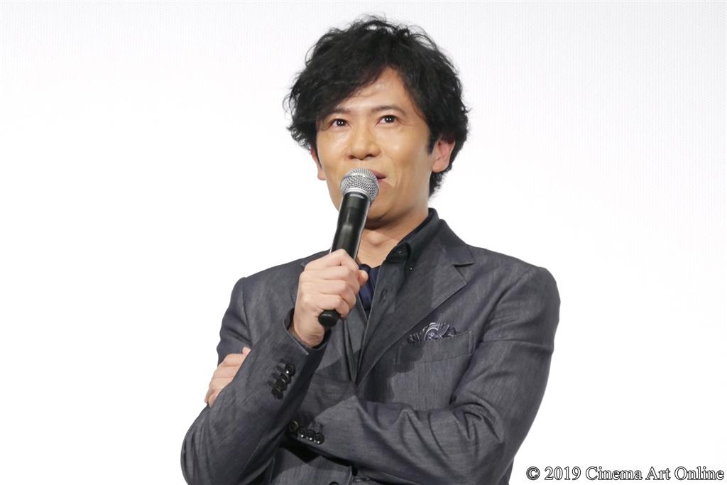 【写真】映画『海獣の子供』公開初日舞台挨拶 (稲垣吾郎)
