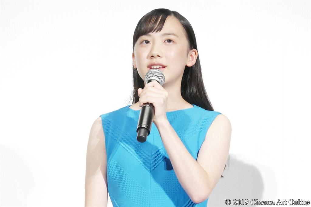 【写真】映画『海獣の子供』公開初日舞台挨拶 (芦田愛菜)