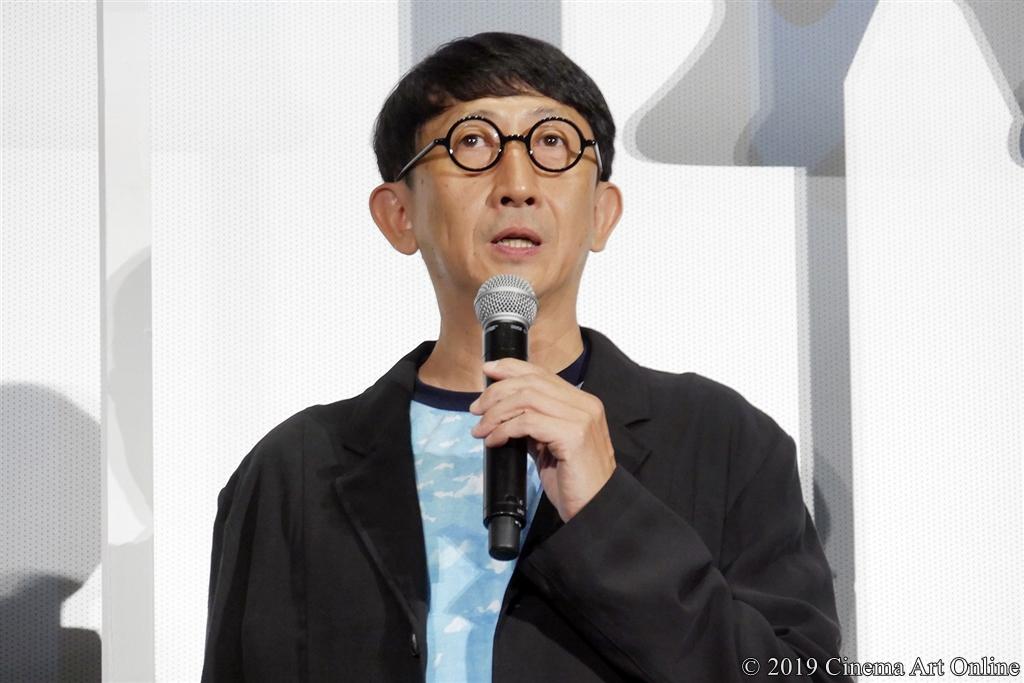 【写真】映画『海獣の子供』公開初日舞台挨拶 (渡辺歩監督)
