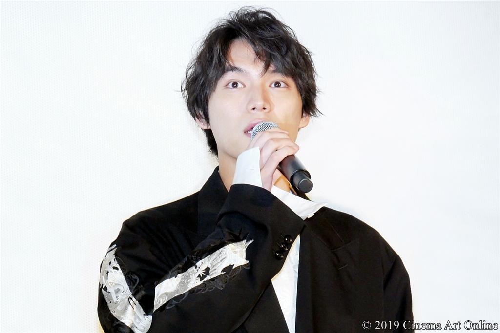 映画『ザ・ファブル』公開記念舞台挨拶 (福士蒼汰)