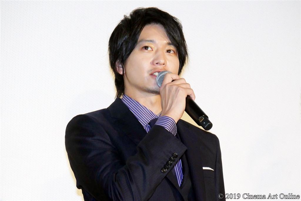 映画『ザ・ファブル』公開記念舞台挨拶 (向井理)
