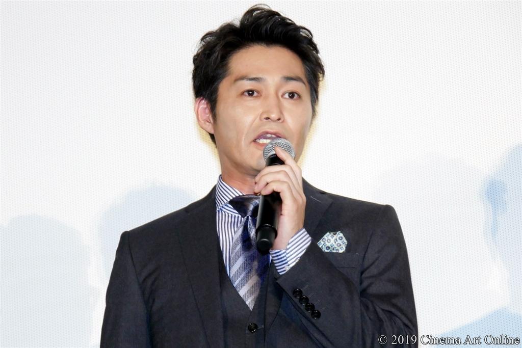 映画『ザ・ファブル』公開記念舞台挨拶 (安田顕)