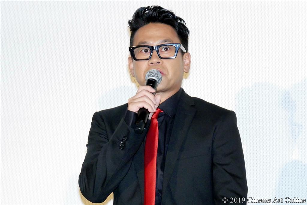 映画『ザ・ファブル』公開記念舞台挨拶 (宮川大輔)