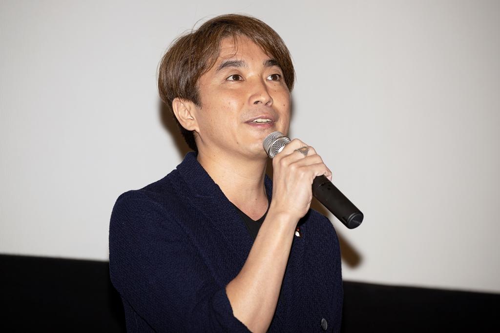 【写真】映画『小さな恋のうた』大ヒット記念舞台挨拶 (橋本光二郎監督)