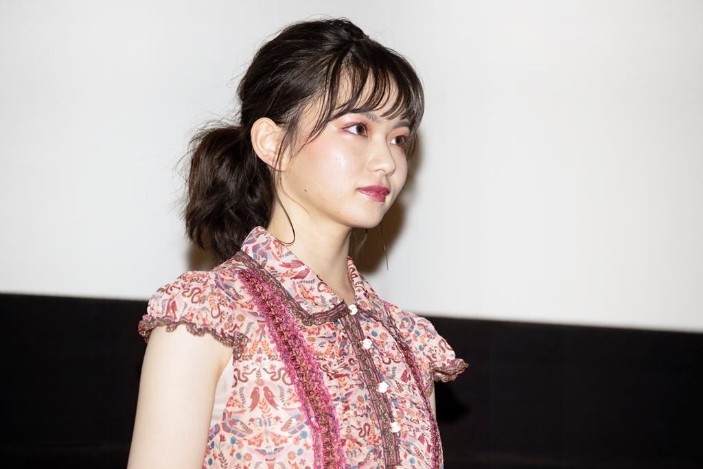 【写真】映画『小さな恋のうた』大ヒット記念舞台挨拶 (山田杏奈)