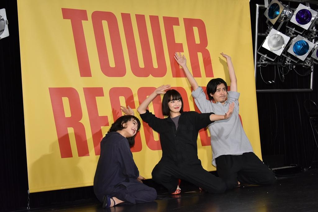 【写真】映画『さよならくちびる』公開直前イベント (小松菜奈、門脇麦、成田凌)